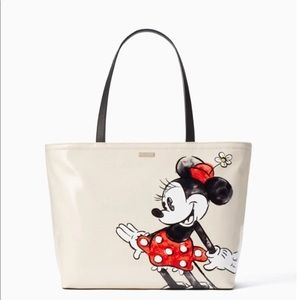 Kate Spade Minnie Mouse tote NEW WITH TAG!